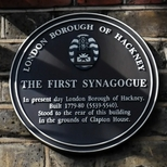 First Synagogue in Hackney