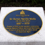 Sir Barnes Wallis - Harmondsworth