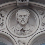 Keats House at Guy's - bust 1 - William Harvey