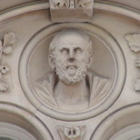 Keats House at Guy's - bust 3 - Hippocrates