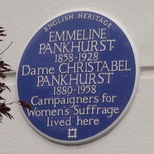 Emmeline and Christabel Pankhurst