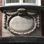 Infants Hospital - plaque