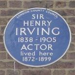 Sir Henry Irving - W1