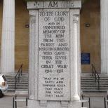 St Marks, Kennington - WW1 memorial