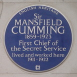 Sir Mansfield Cumming
