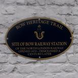 Bow Railway Station