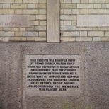 WW1 memorial cross - from St John's