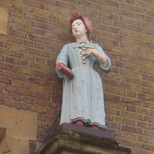 St Mary Abbots - girl