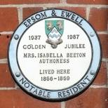 Isabella Beeton - Epsom