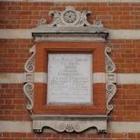 Bermondsey Library - foundation stone