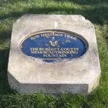 Burdett-Coutts - Victoria Park - plaque