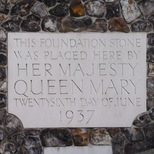 Church House - foundation stone