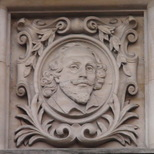 Old Westminster Library - head 2- Shakespeare