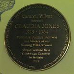 Claudia Jones - Carnival Village