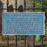 St James's Gardens - construction
