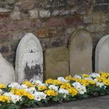 Gravestones in Launceston Place