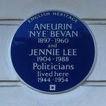 Aneurin Bevan and Jennie Lee
