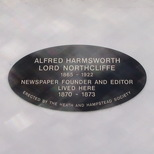 Lord Northcliffe - Hampstead