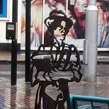 Edith Garrud - steel statue