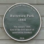 Football - first FA match