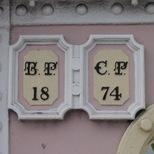 Albert Bridge boundary markers