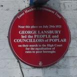 George Lansbury - E14