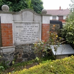 Chiswick war memorial - Burlington Lane
