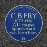 C. B. Fry - Croydon
