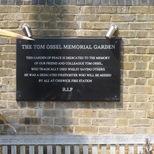 Tom Ossel memorial garden