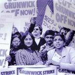 Grunwick workers strike