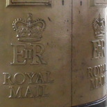 Sophie Hoskins gold post box