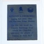 Winston Churchill - Epping 1