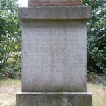 David Hartley obelisk