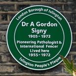 Dr. A. Gordon Signy