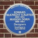 Marion Dorn and Edward McKnight Kauffer