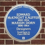 Marion Dorn and Edward McKnight Kauffer