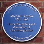 Michael Faraday - Larcom Street