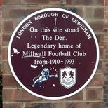 Millwall Football Club - SE14