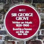 Sir George Grove - Sydenham Road