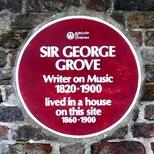 Sir George Grove - Sydenham Road