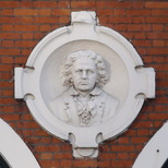 Bust in Stratford - Beethoven