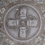 Bowler plaque - Four Tankards