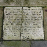 Christ Church Spitalfields - pavement - ownership