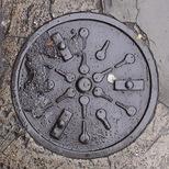 Bowler plaque - Keys and Doorbells