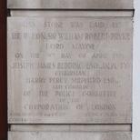 Police station foundation stone