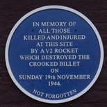 Crooked Billet - V2 attack