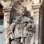 V&A façade - King Edward VII