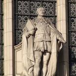 V&A façade - Prince Albert