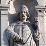 V&A façade - St. Dunstan