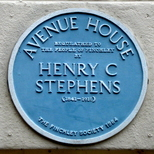 Henry Charles Stephens - plaque